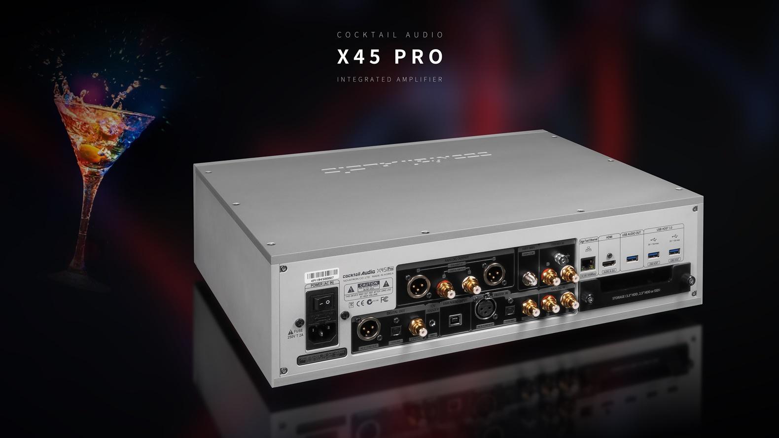 X45 Pro Silver 뒷면
